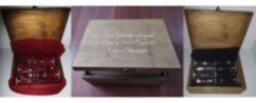 Copas Cava Personalizadas en Caja de Madera Grabada